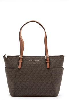Michael Michael Kors Jet Set Tote Bag 252 Brown/Acorn Bubbleroom.eu