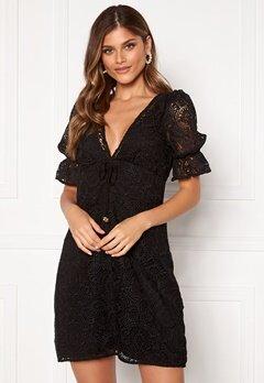 Michael Michael Kors Lux Medallion Lace Dress Black Bubbleroom.eu