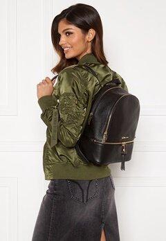 Michael Michael Kors Rhea Zip Backpack 001 Black Bubbleroom.eu
