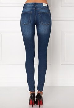 CHEAP MONDAY Mid Spray Jeans Dark Blue Bubbleroom.eu
