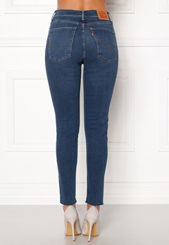 LEVI'S Mile High Superskinny 0037 Indigo Fusion Bubbleroom.eu