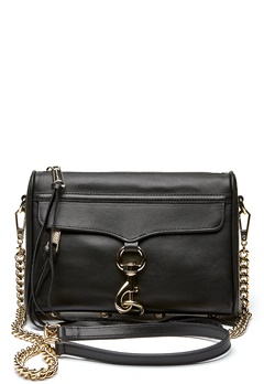 Rebecca Minkoff Mini Mac Bag 001 Black/Light Gold Bubbleroom.eu