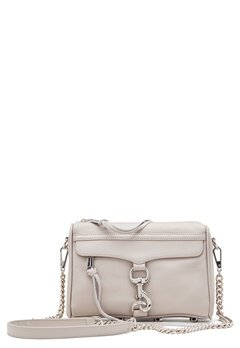 Rebecca Minkoff Mini Mac Leather Bag Putty Bubbleroom.eu