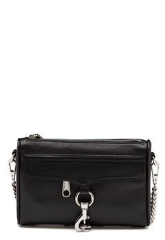 Rebecca Minkoff Mini Mac Pebble Strap Bag Black Bubbleroom.eu