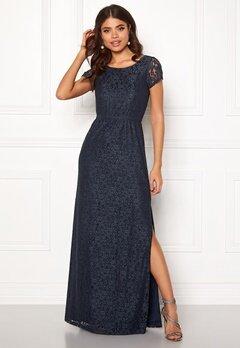 DRY LAKE Mira Long Dress 400 Blue Bubbleroom.eu