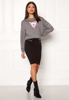 Guess Miriam Skirt Jet Black Bubbleroom.eu