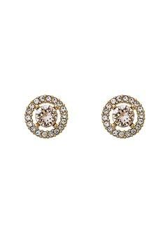 LILY AND ROSE Miss Miranda Earrings Light Silk Bubbleroom.eu