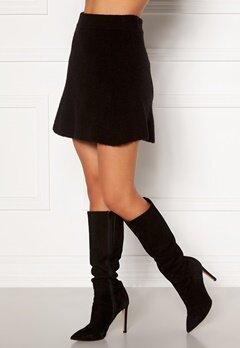 Moa Mattsson X Bubbleroom Knitted short skirt Black Bubbleroom.eu