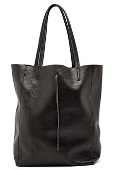 Moda Ex Plain Shopper Bag Black Bubbleroom.eu