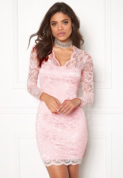 Model Behaviour Simone Dress Light pink Bubbleroom.eu