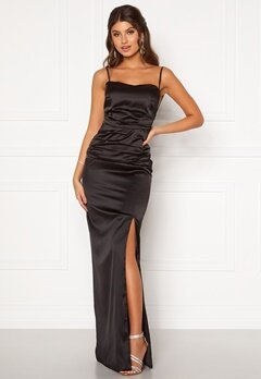 Moments New York Alda Strap Gown Black Bubbleroom.eu
