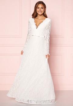 Moments New York Antoinette Wedding Gown White Bubbleroom.eu
