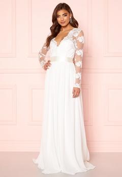 Moments New York Azalea Wedding Gown White Bubbleroom.eu
