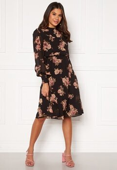 Moments New York Chloe Chiffon Dress Floral Bubbleroom.eu