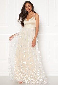 Moments New York Eline Flower Gown Champagne Bubbleroom.eu