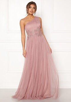 Moments New York Florine Mesh Gown Old rose Bubbleroom.eu