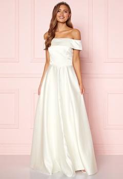 Moments New York Gabrielle Wedding Gown White Bubbleroom.eu