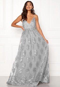 Moments New York Gardenia Lace Gown Blue-grey Bubbleroom.eu