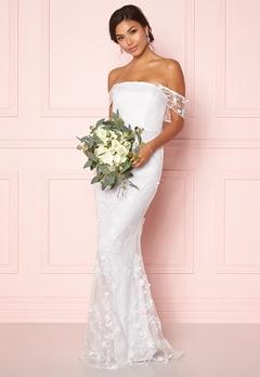 Moments New York Petunia Wedding Gown White Bubbleroom.eu