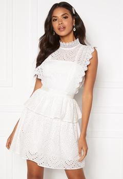 Moments New York Olivia Crochet Dress White Bubbleroom.eu