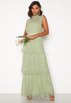 Moments New York Olivia Crochet Gown Green Bubbleroom.eu