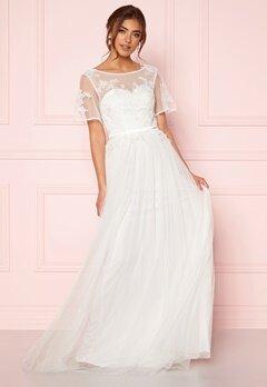 Moments New York Rosalie Wedding Gown White Bubbleroom.eu