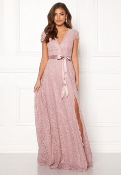 Moments New York Viola Lace Gown Dusty lilac Bubbleroom.eu
