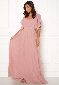 Moments New York Violet Chiffon Gown Dusty pink Bubbleroom.eu
