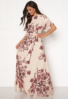 Moments New York Maja Printed Gown Floral Bubbleroom.eu