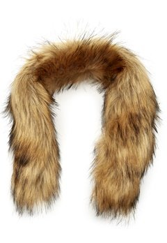 Mountain Works Faux Fur Trim 200 Brown Bubbleroom.eu