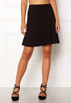 Boomerang Munte Interlock Skirt Black Bubbleroom.eu
