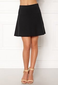 NÜMPH Lynette Knit Skirt Caviar Bubbleroom.eu