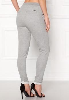 NÜMPH Tweena Pants L Grey Melange Bubbleroom.eu