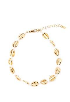 Pieces Nella Ancle Chain Gold Bubbleroom.eu