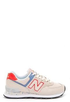 New Balance WL574 Sneakers Beige Bubbleroom.eu