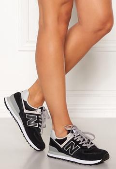 New Balance WL574 Sneakers Black/White Bubbleroom.eu