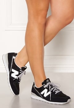 New Balance WL996 Sneakers Black/Silver Bubbleroom.eu