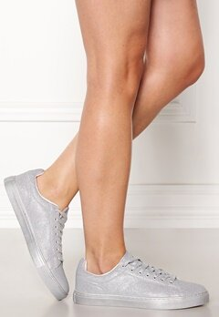 New Look All over Glitter sneakers Silver Bubbleroom.eu