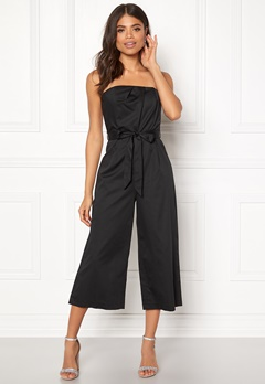 New Look Bandeau Culotte Jumpsuit Black Bubbleroom.eu