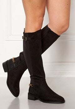 New Look Chain Riding Boots Black Bubbleroom.eu