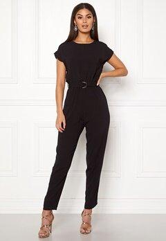 New Look D-Ring Tee Jumpsuit Black Bubbleroom.eu