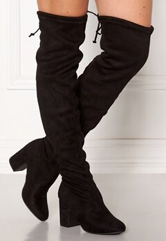 New Look Erica High Leg Boots Black Bubbleroom.eu