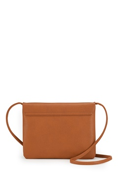 New Look Foldover Zip Crossbody Brun Bubbleroom.eu
