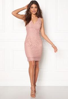 New Look Go Lace Contrast Bcon Pink Pattern Bubbleroom.eu