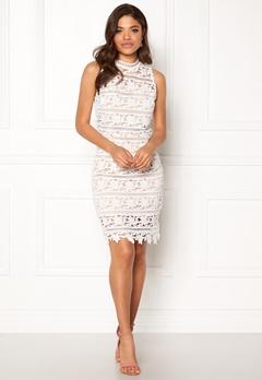 New Look Go Prem Lace Bodycon White Pattern Bubbleroom.eu