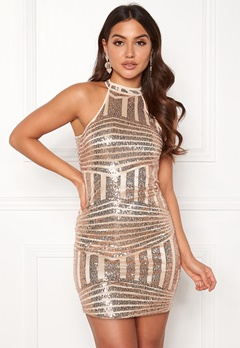 New Look Go Sequin Bodycon Dress Metal Bubbleroom.eu