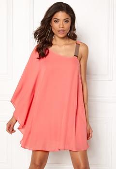New Look Go Shoulder Chain Dress Apricot Bubbleroom.eu