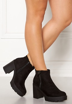 New Look High Chunky Boots Black Bubbleroom.eu