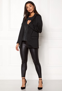 New Look Ponte Blazer Black Bubbleroom.eu