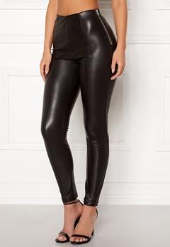 New Look PU Leggings Black Bubbleroom.eu